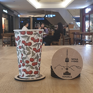 NSeoulTower Coasters 1pcs, 남산타워, N서울타워
